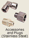 Accessories and Plugs<br>Stainless Steel