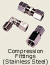 Compression Fittings<br>Stainless Steel