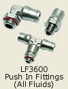 LF3600 Push In Fittings